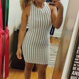 mini striped dress